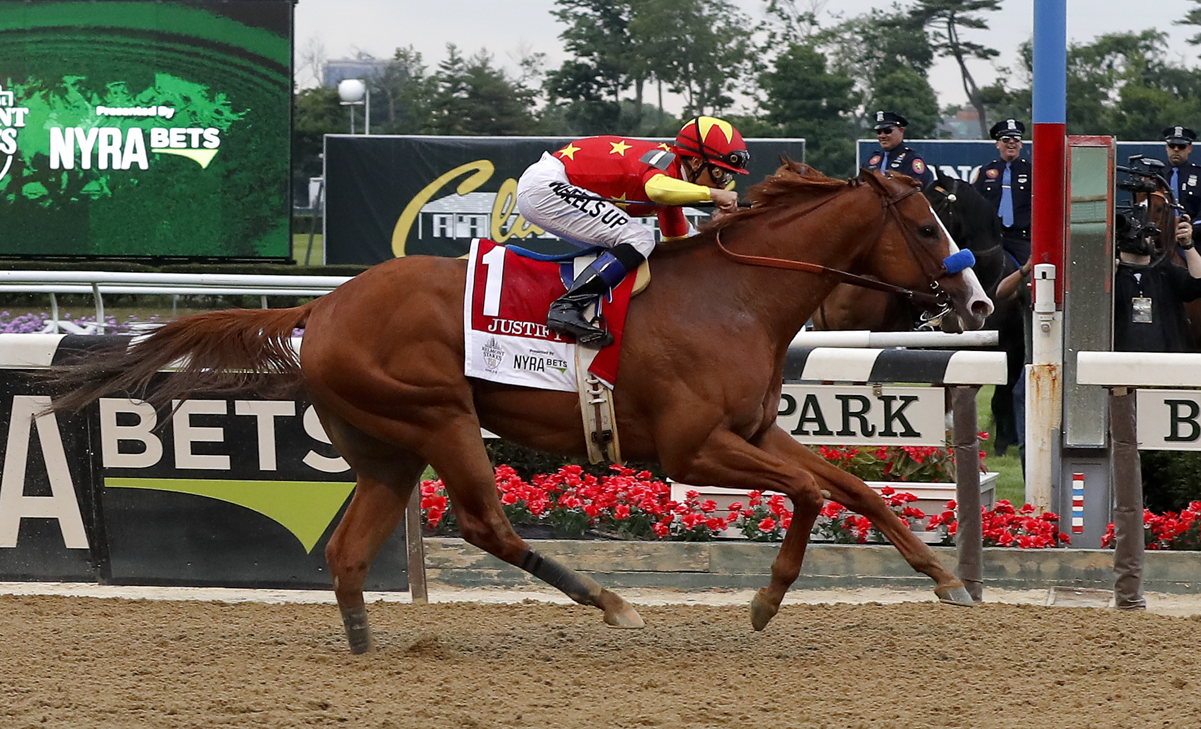 Justify Makes History With Triple Crown Win
