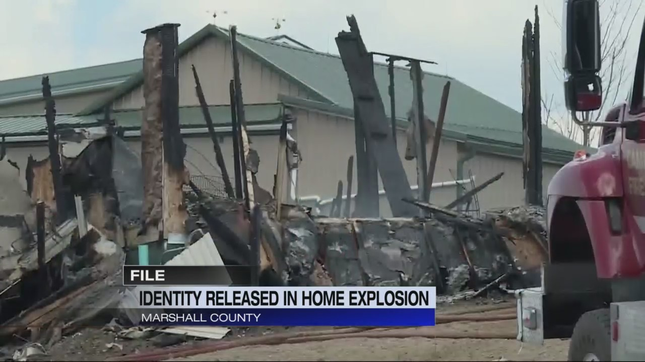 Identity released in Marshall County home explosion