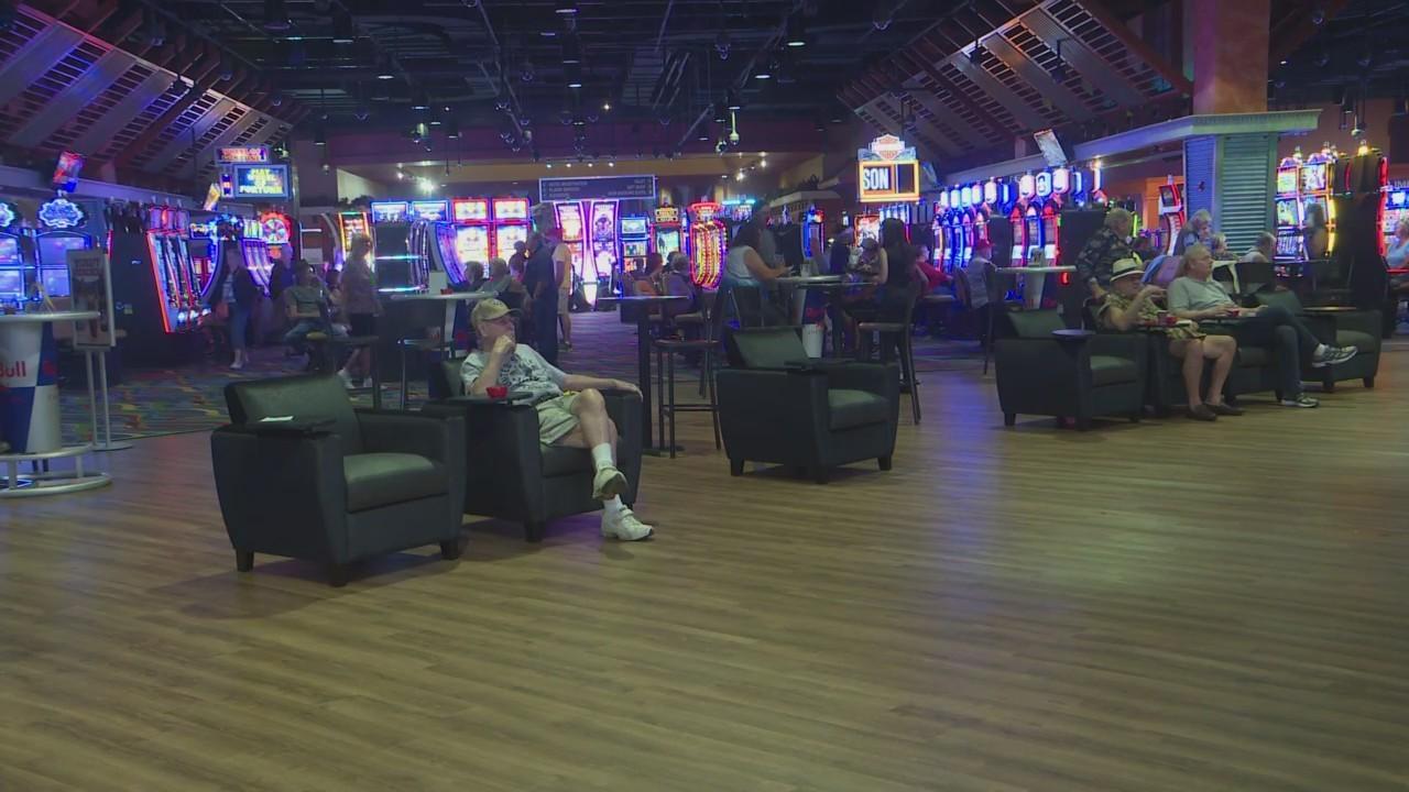 Wheeling down race track casino o shays casino las