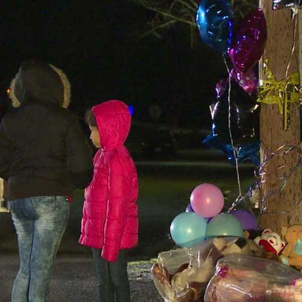 Youngstown fire memorial on Parkcliffe Avenue where five kids died