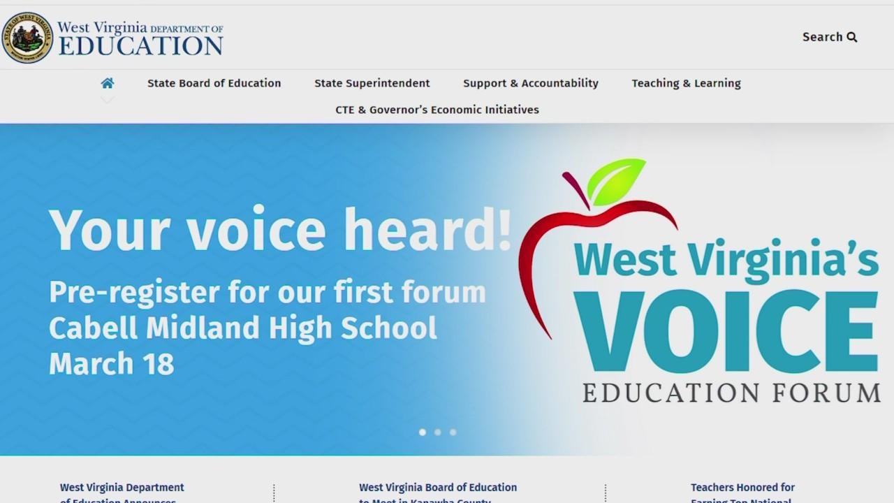 WVDE announces dates for education forums