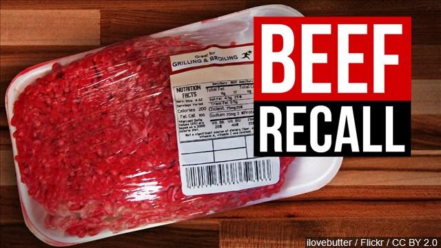 beef recall