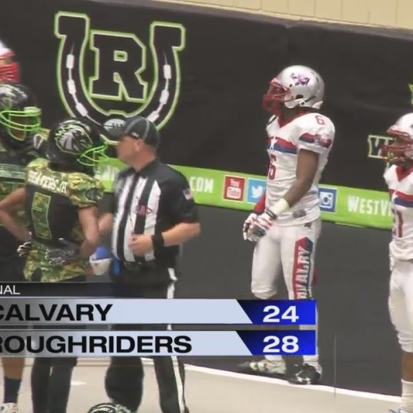 Roughriders Defeat Calvary