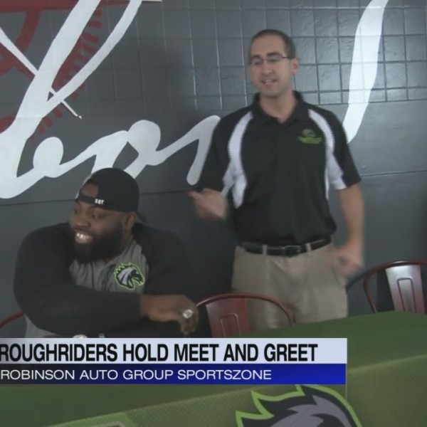 Roughriders Hold Meet and Greet
