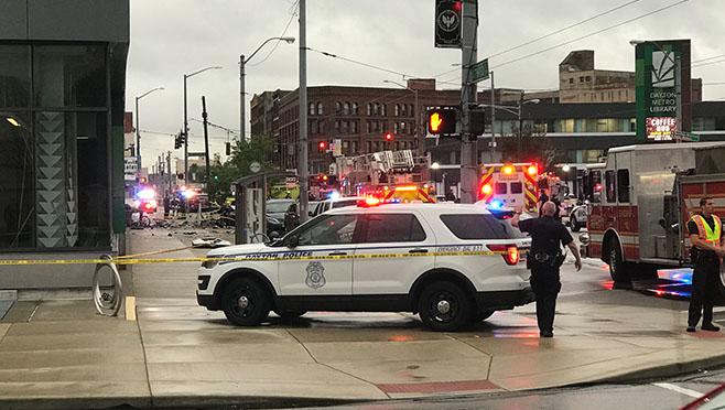 2 children killed, 10 hurt in crash with stolen police SUV