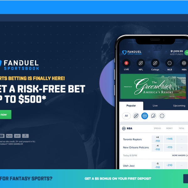 FanDuel Group Debuts New Sports Betting Experience in West Virginia