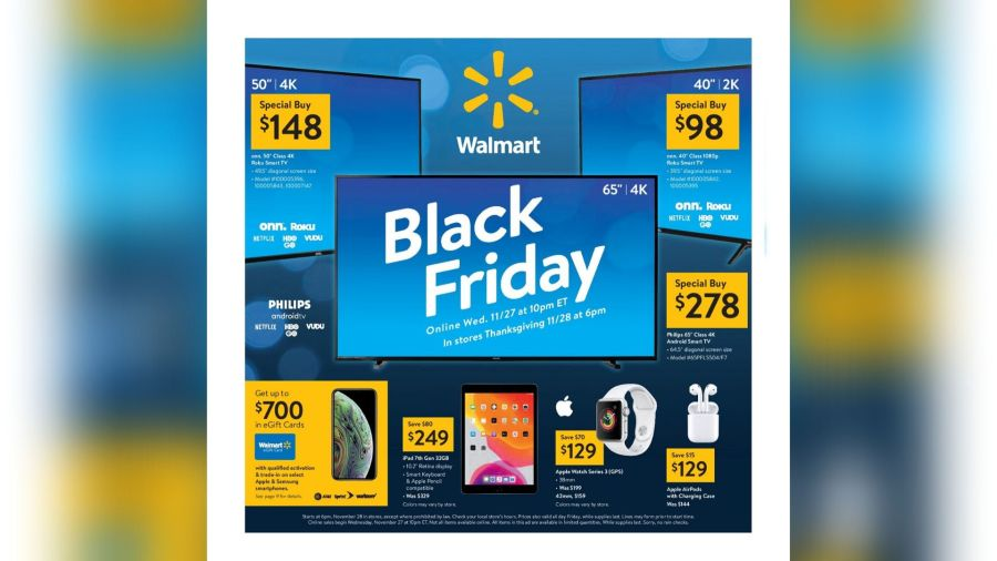 Walmart Releases Its Black Friday Ad News 4 Buffalo