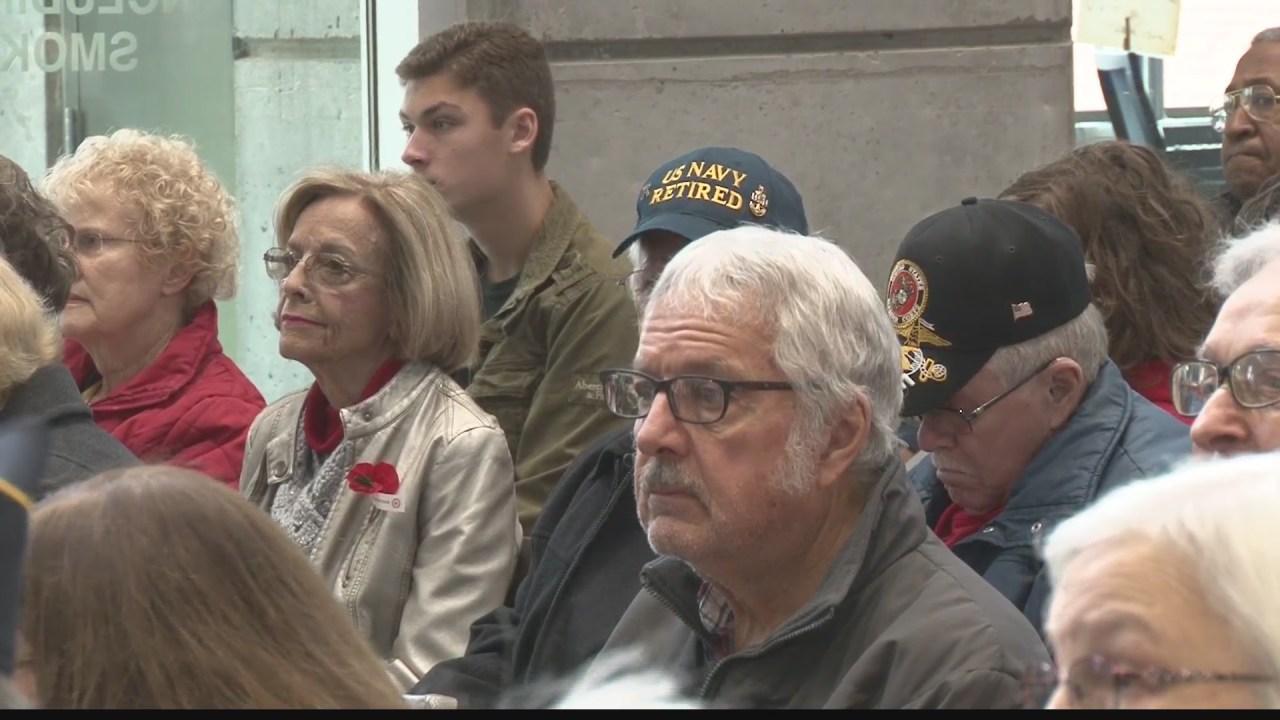 Wheeling holds Veterans Day celebration   WTRF