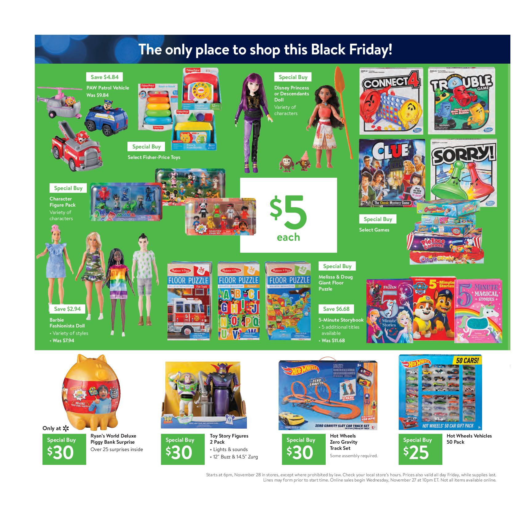 Walmart Releases Its Black Friday Ad