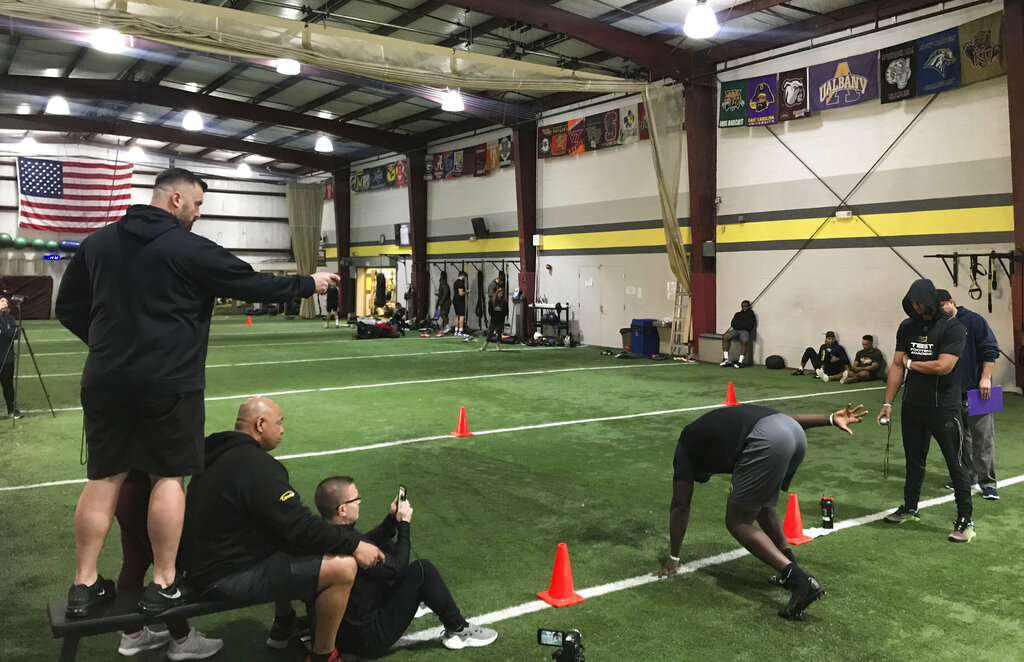 Dunn Academy Halloween 2020 30 NFL draft hopefuls showed off skills at a virtual pro day | WTRF