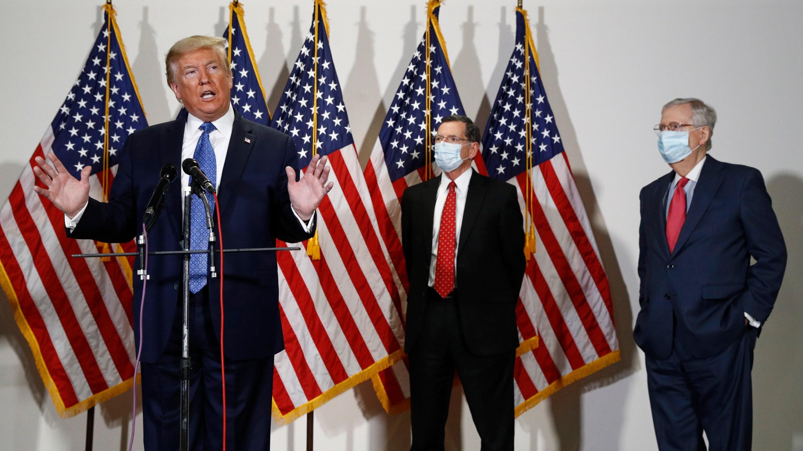 Donald Trump, John Barrasso, Mitch McConnell, Roy Blunt