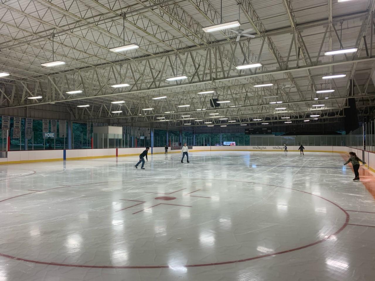 Wheeling Park Ice Rink debuts $1.3 million renovation   WTRF