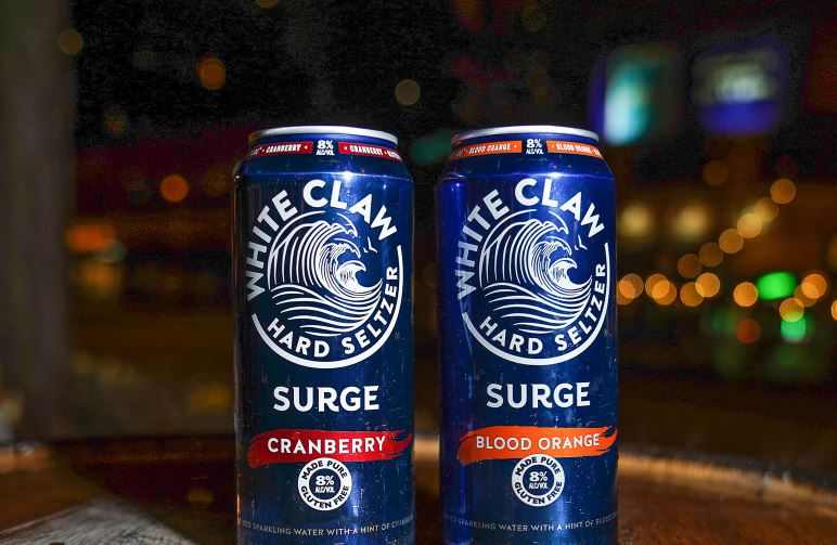 White Claw Launching High-Alcohol Hard Seltzer Called Surge For 2021 Summer