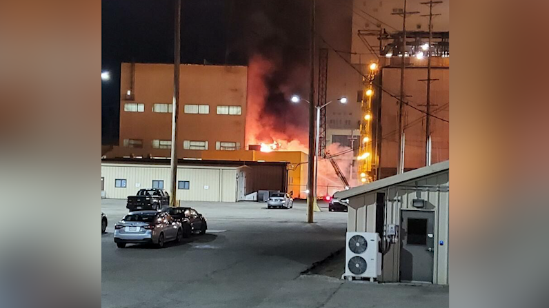 Mitchell Plant Fire Had No Environmental Impact